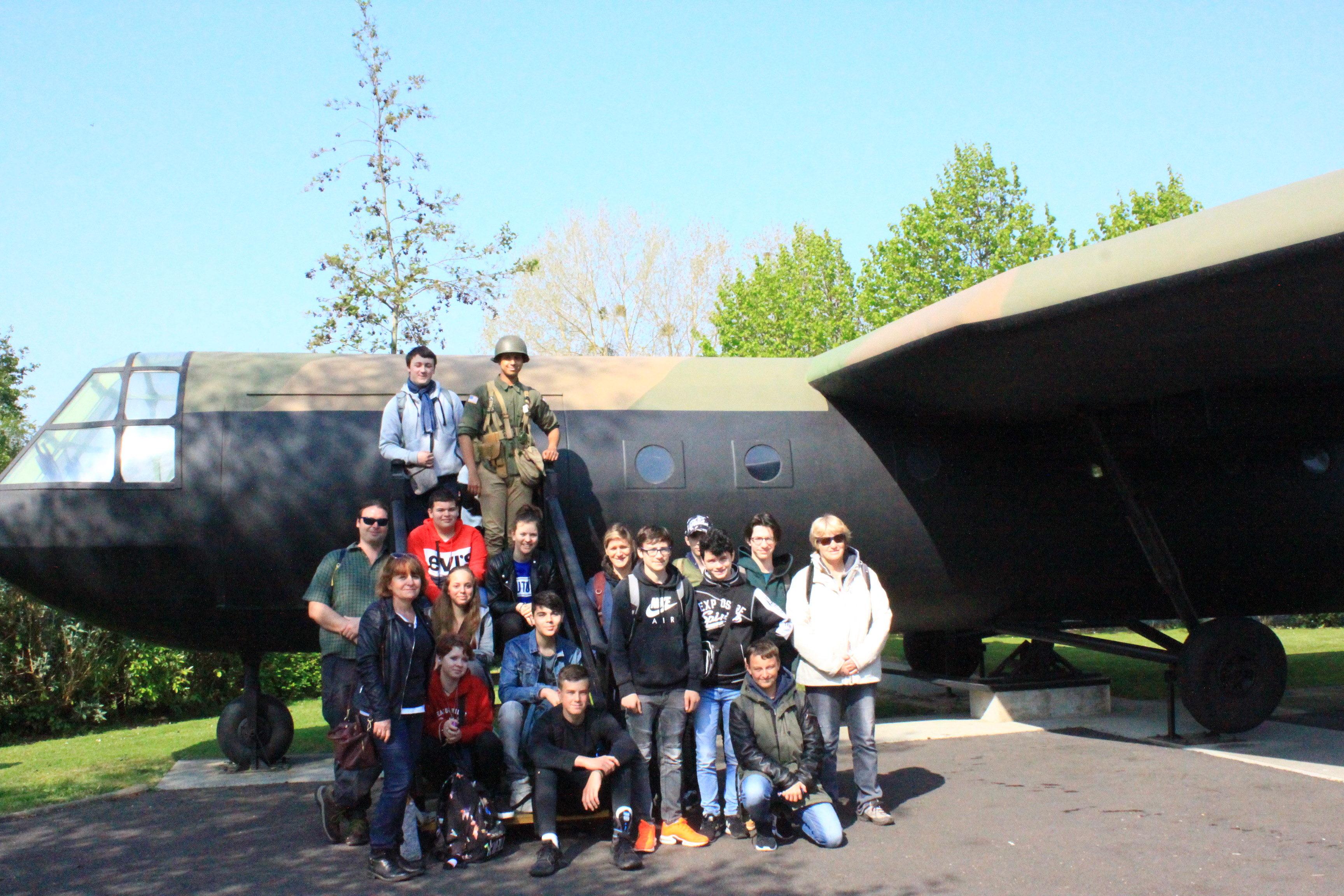 Au Musée et Mémorial de Pégasus Bridge à Bénouville !